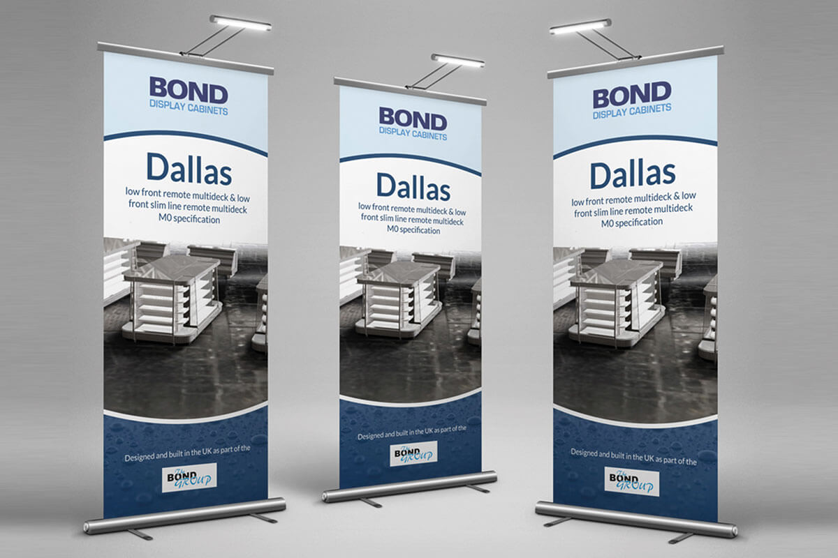 Bond Group Roller Banners