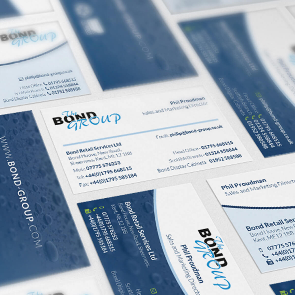 The Bond Group Business Cards