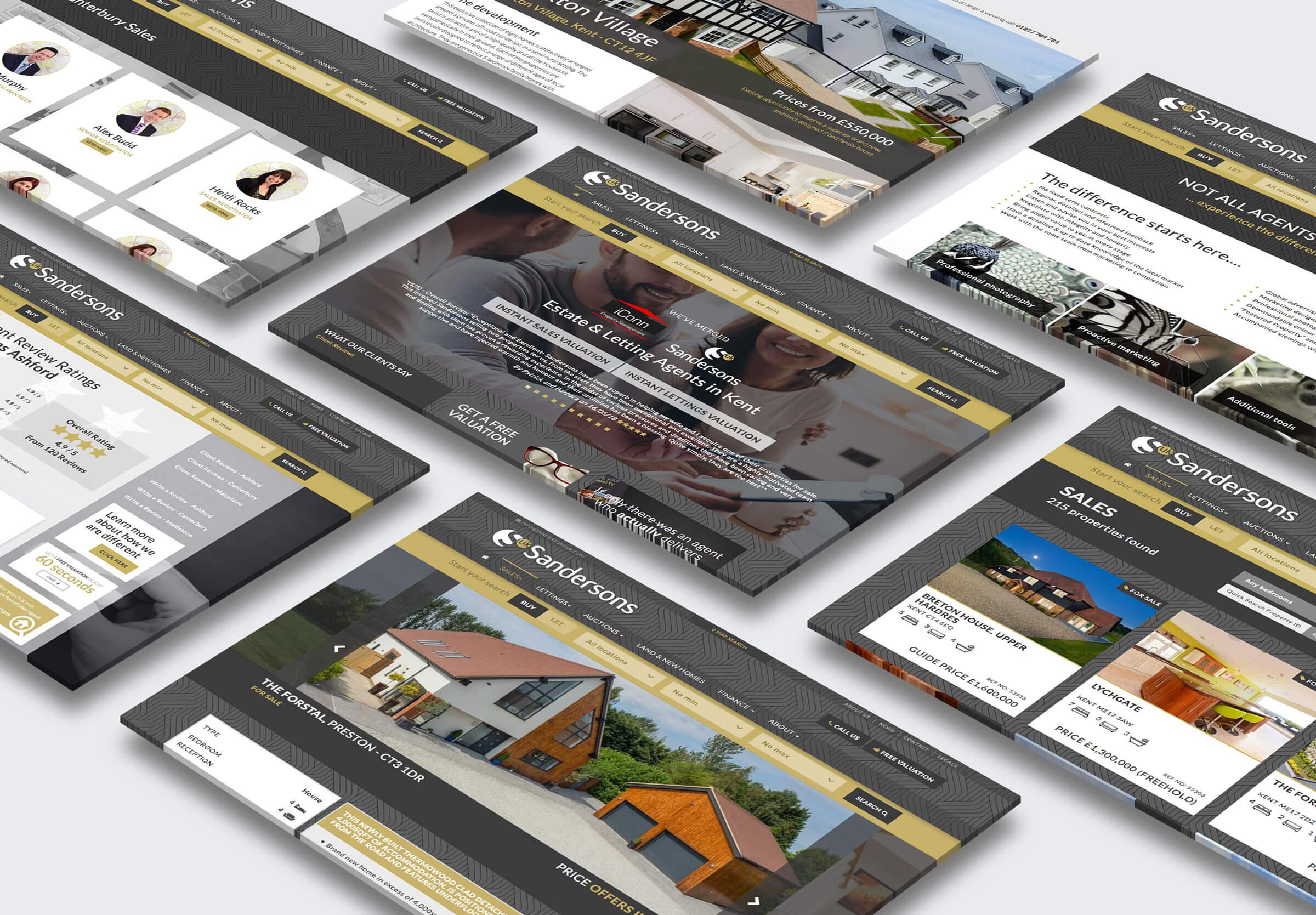 Estate Agent Websites