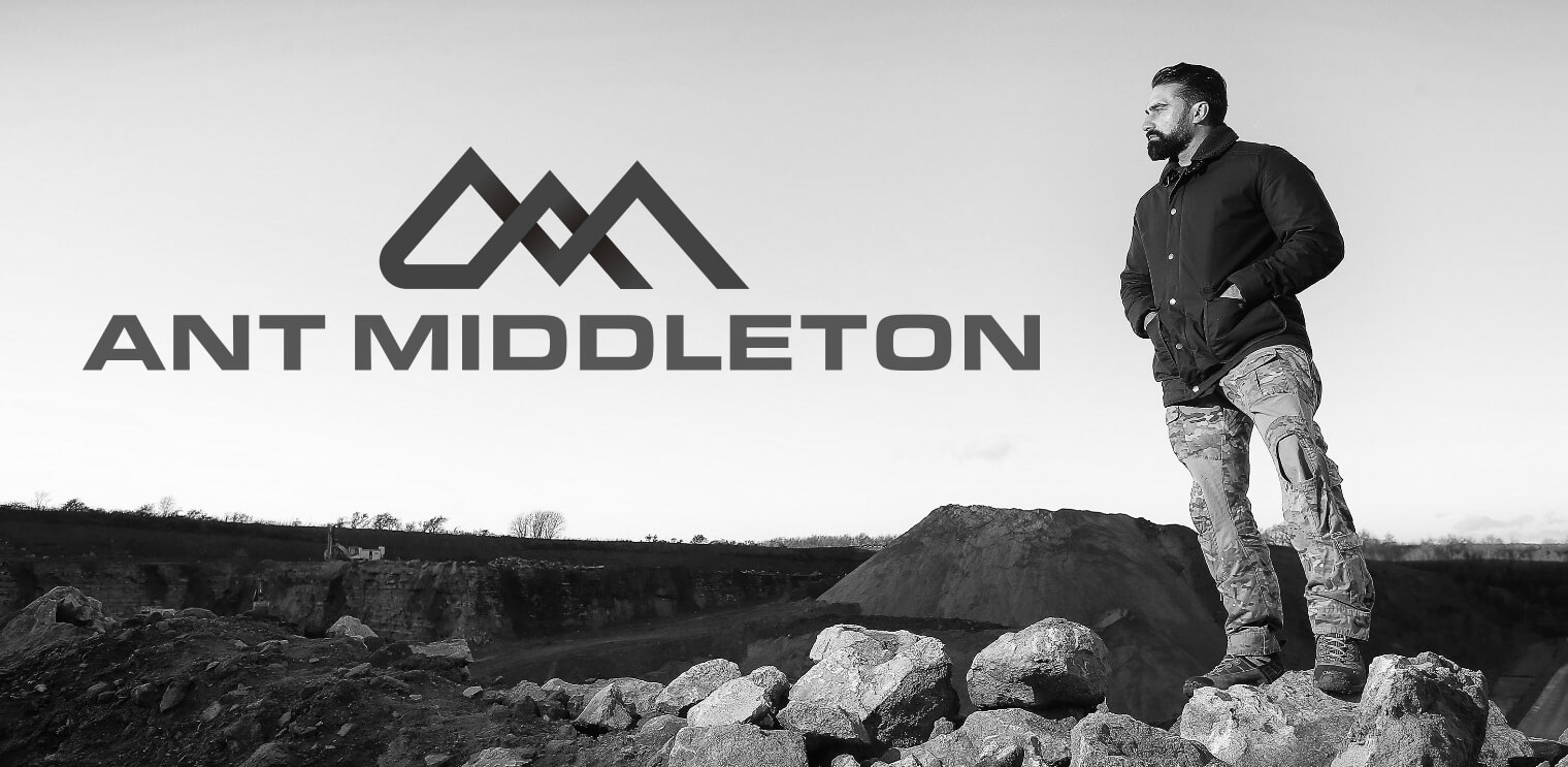 Ant Middleton Branding