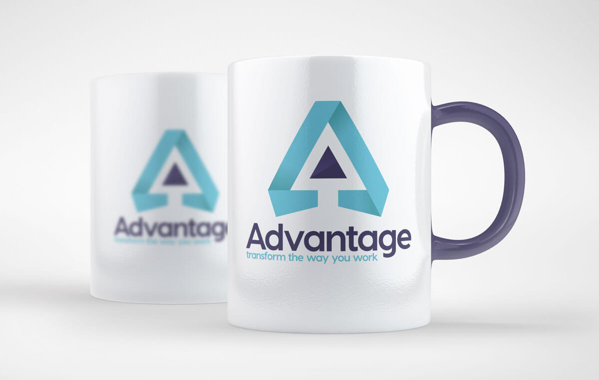 advantage branded cup