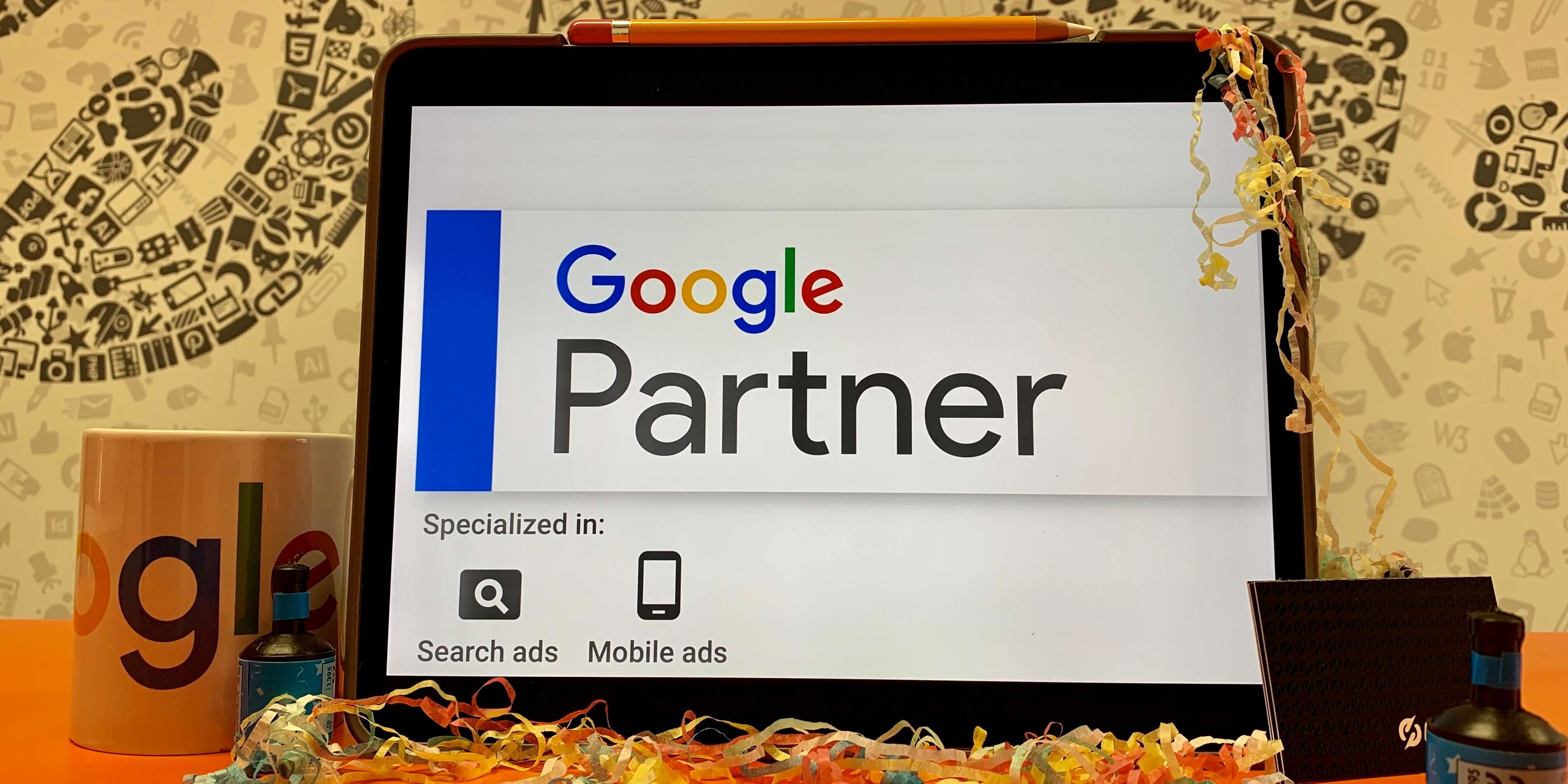 CS One Design are now Google Partners